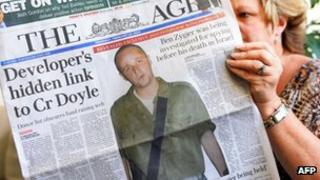 Australian newspaper reporting case of Ben Zygier