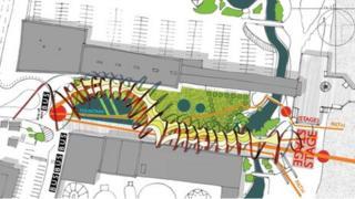 Scarborough Esplanade concept sketch