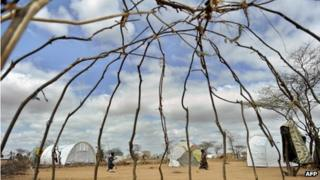 Dadaab refugee in Kenya - April 2011