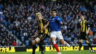 Glasgow Rangers vrs Berwick Rangers