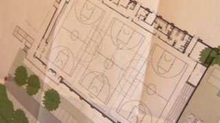 Sports hall plans