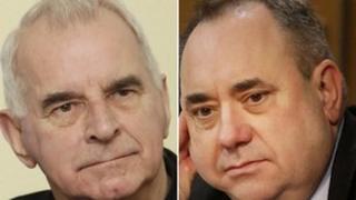 Cardinal Keith O'Brien and Alex Salmond