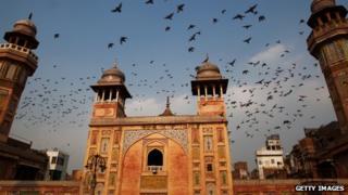 Lahore's Wazir Khan Mosque