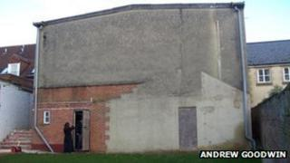 The disused Old Pump House theatre
