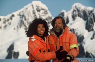 Deborah Shapiro and Rolf Bjelke