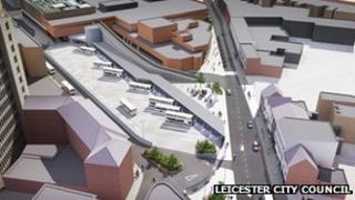 Plan for Haymarket bus station