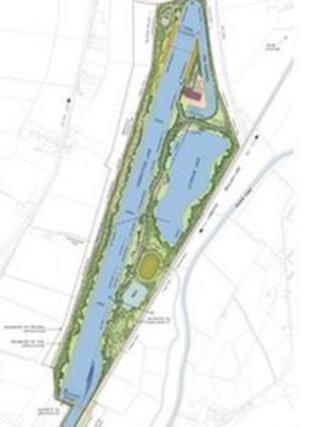 Plans for Cambridge water sports park