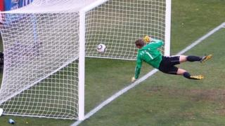 Frank Lampard's wrongly disallowed goal at the last World Cup
