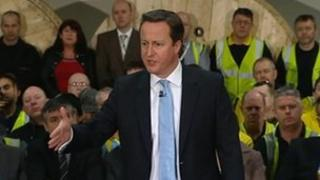 David Cameron at Prysmian
