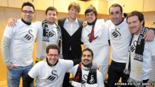 Stag party with Michu