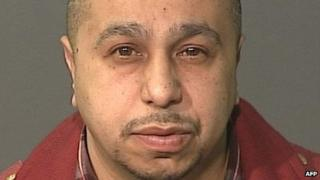 This undated photo obtained 5 March 2013 courtesy of the New York Police Department shows suspect Julio Acevedo