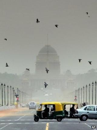 Traffic, India (Image: AP)
