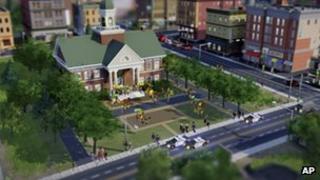 Screenshot of SimCity