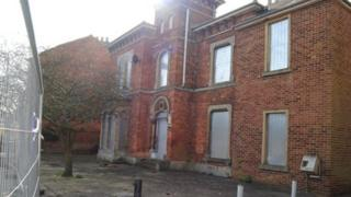 The building in West Street in Grimsby