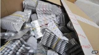 Counterfeit drugs found in Belgium