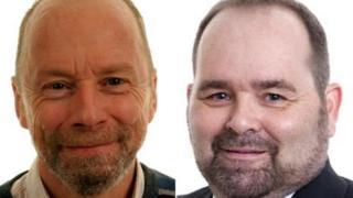 Dr Stewart Rhind and Dr Julian Dawson