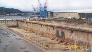 Prince of Wales dry dock