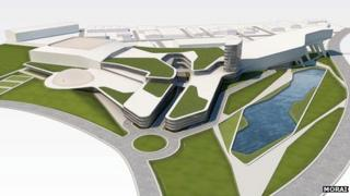Artists impression of the proposed scheme