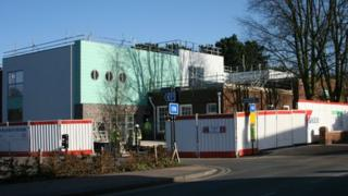 The new library at West Bridgford