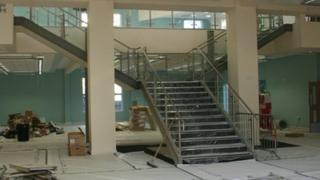 Inside the new West Bridgford library