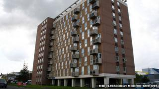 Kennedy Gardens Flats in Billingham