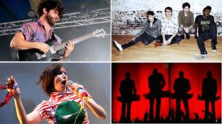 Foals (by Jenny O'Neill), Bloc Party, Yeah Yeah Yeahs and Kraftwerk