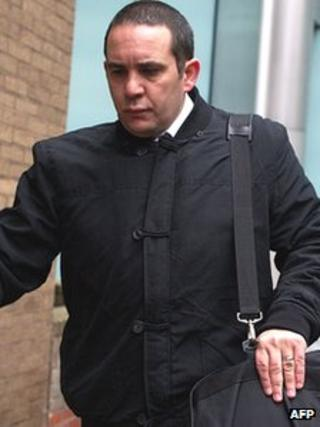 Ricci Giff arrives at Southwark Crown Court