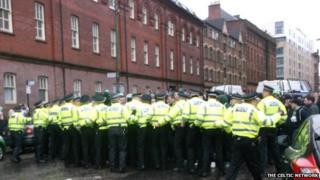 Green Brigade protest