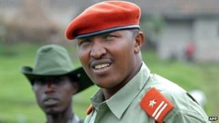 Bosco Ntaganda in eastern DR Congo in January 2009