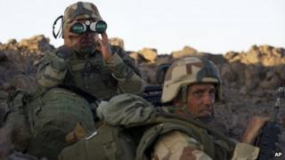 French soldiers in northern Mali (1 March 2013)
