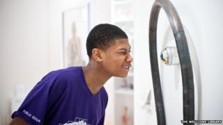 Harrow High School visit to the Wellcome Trust