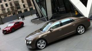 Bentley Continental GT and Flying Spur