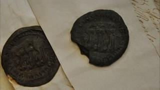 Guernsey seals on documents