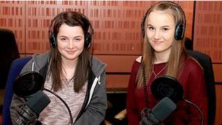 Lauren and Holly from Bartley Green School, Birmingham