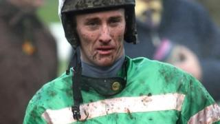 JT McNamara was left paralysed following a fall at the Cheltenham Festival