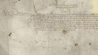 Letter signed by Richard III
