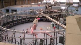 Milking parlour at Pennings Farm in Pewsey