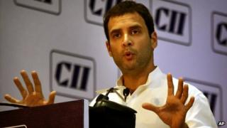 Rahul Gandhi at the CII address on 4 April 2013