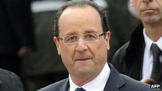 French President Francois Hollande, 3 Apr 13