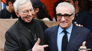 Roger Ebert and Martin Scorsese in Cannes May 2009