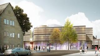 An artist's impression of the new centre