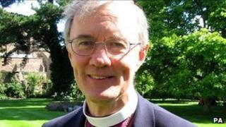 The Bishop of Hereford, the Right Reverend Anthony Priddis