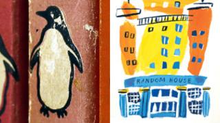 Pengion and Random House UK logos
