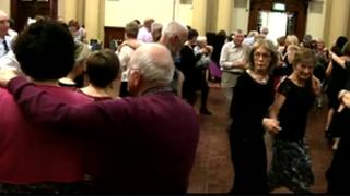 traditional Irish set dance