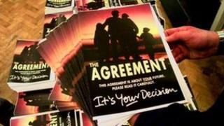 A copy of the 65-page agreement