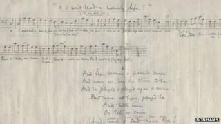 Thomas Hardy music and poem