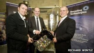 Recycling Technologies launch, 10 April
