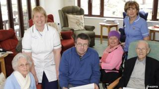 People at St Elizabeth Hospice