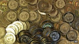 Minted bitcoins