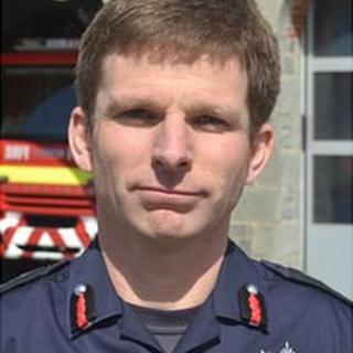 Jon Le Page, Guernsey's chief fire officer